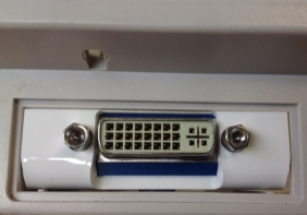 DVI Backplate Installed In A1200