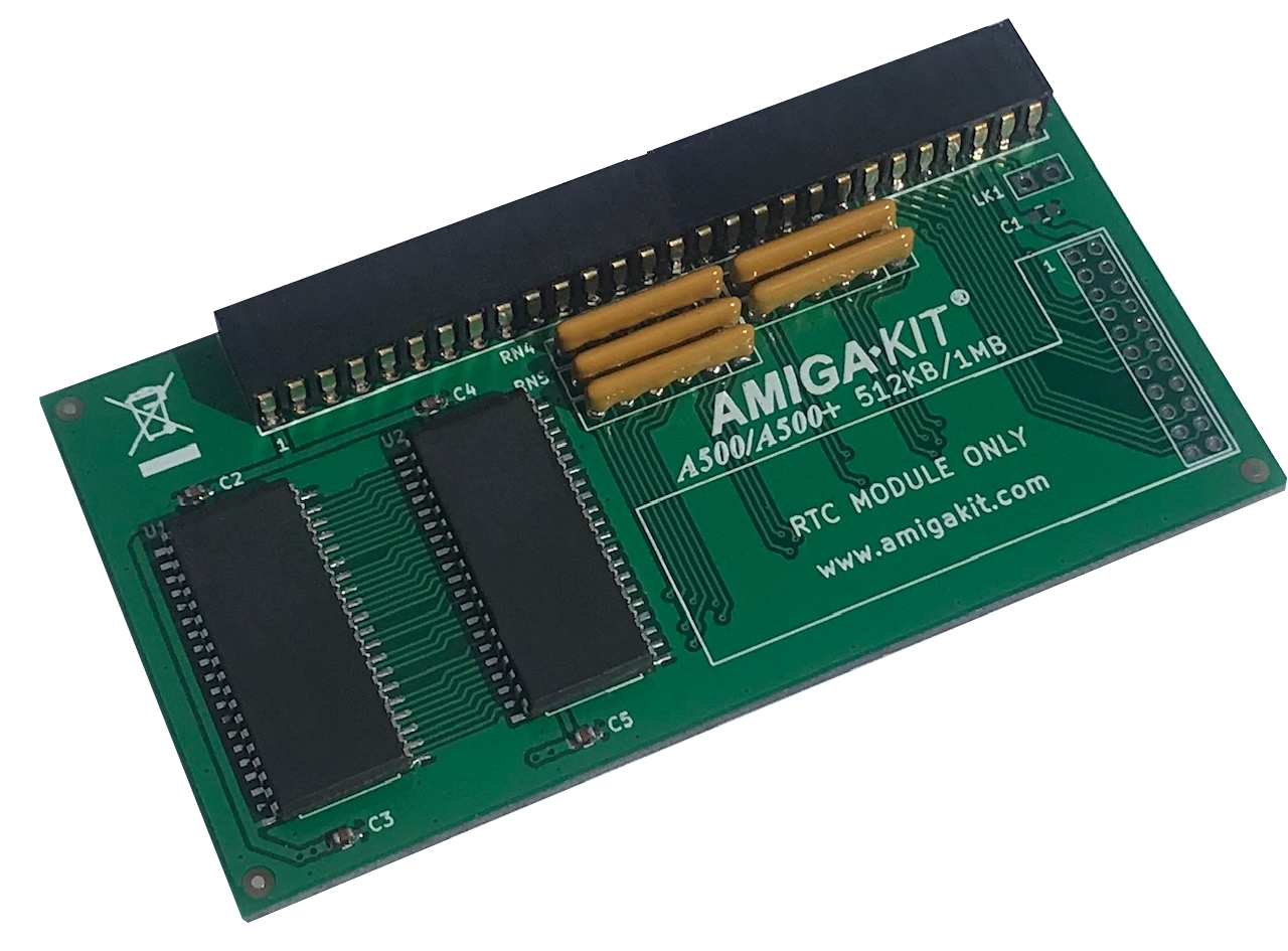 A500+ 1MB Memory RAM Expansion for Amiga 500 Plus