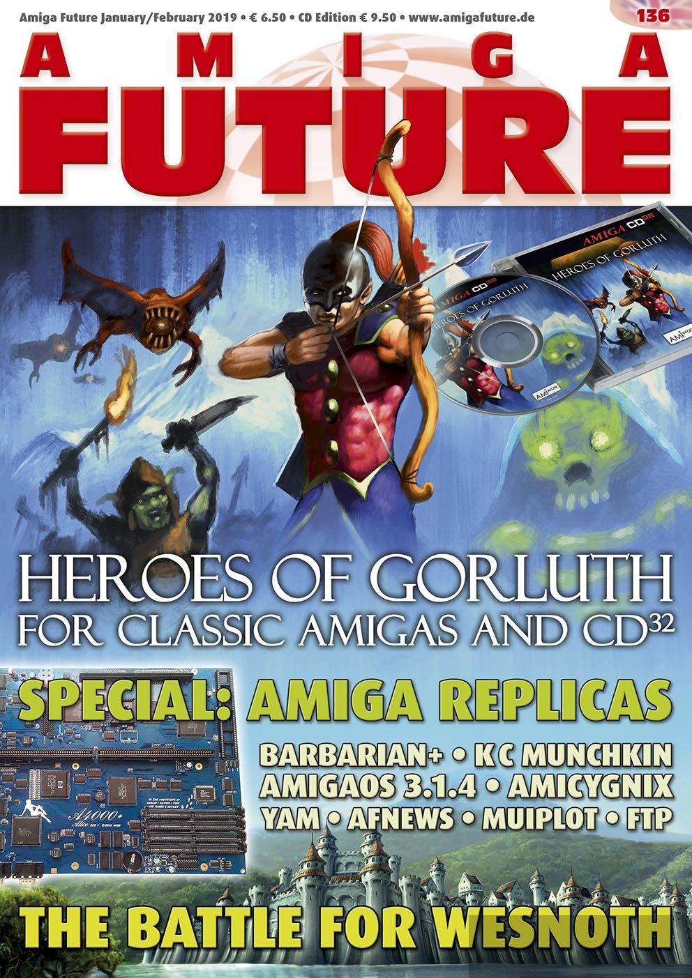 Amiga Future Issue 136 (English)