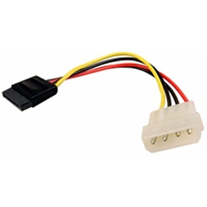 Molex (Male) to SATA (Male) Power Adapter
