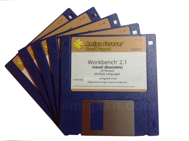 Workbench 2.1 Floppy Disk Set