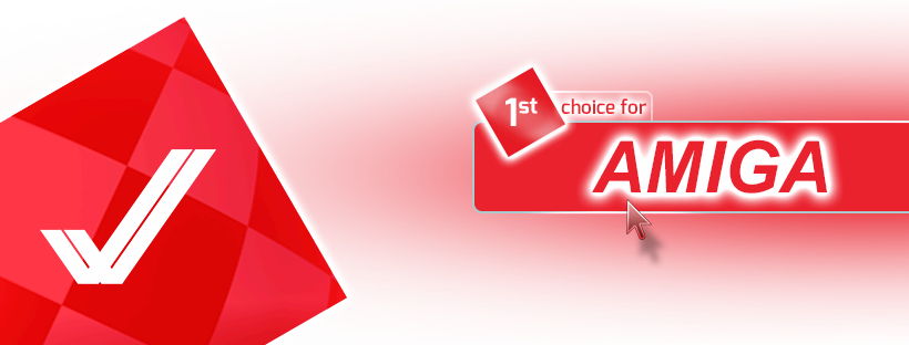 1st choice for Amiga