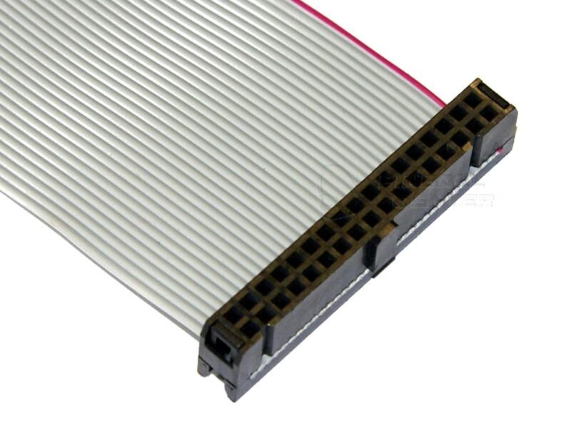 34 Pin Ribbon Cable : Amigakit pin female to ribbon