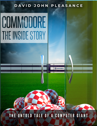 Commodore The Inside Story (hardback book)
