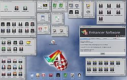 Enhancer Software drawers and icons