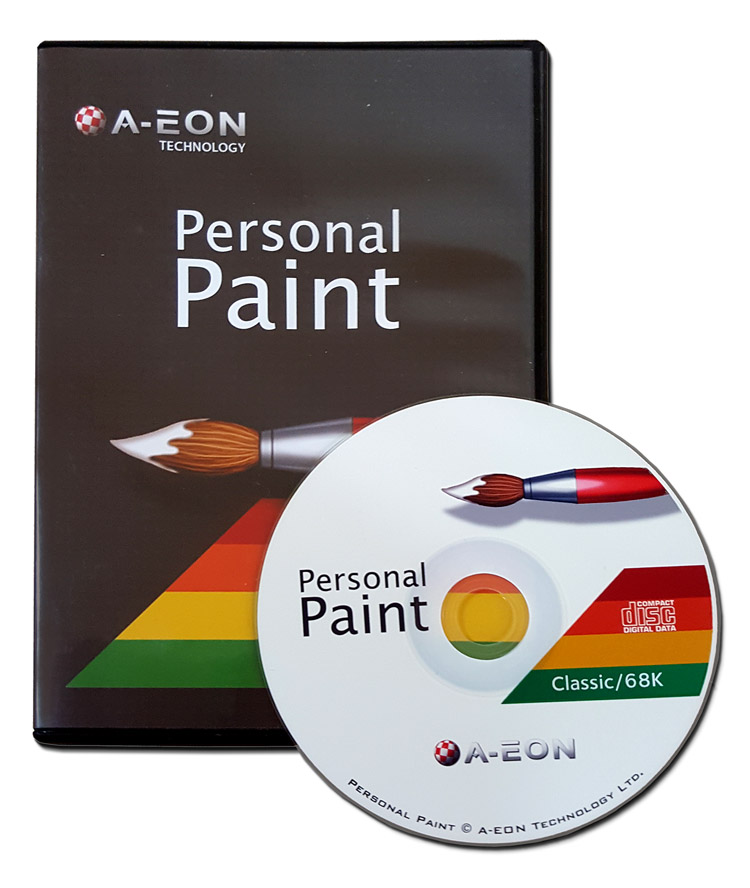 Personal Paint 7.3c OS3 Amiga CD (PPaint)
