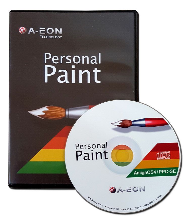 Personal Paint 7.3b OS4 (PPaint)