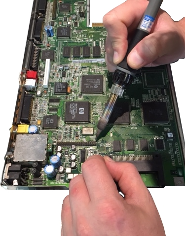 Amiga 1200 / 600 / 4000 IDE Header Repair Service