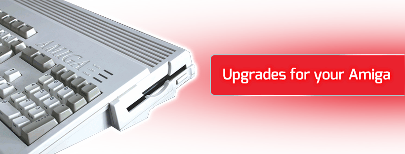 Upgrades for your Amiga