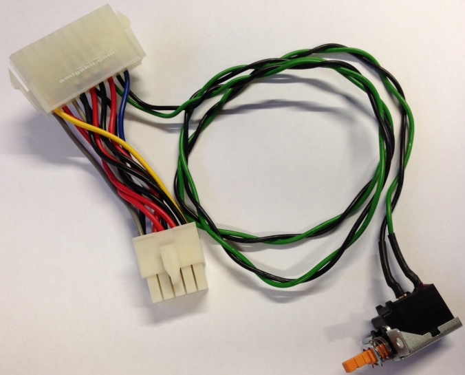 Amiga 3000 ATX PSU Power Adapter Cable & Switch