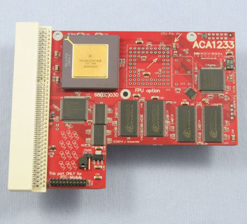 ACA 1233/40 Mhz Accelerator with 128MB RAM