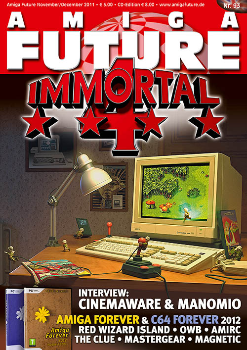 Amiga Future Issue 93 (English)