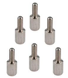 Hex Bolt Screws for Amiga Rear Port (x6)