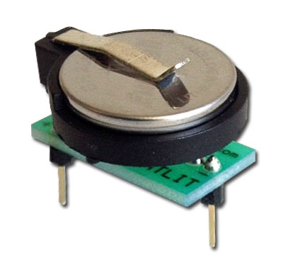Amiga Lithium Coin Cell Clock Battery Adapter