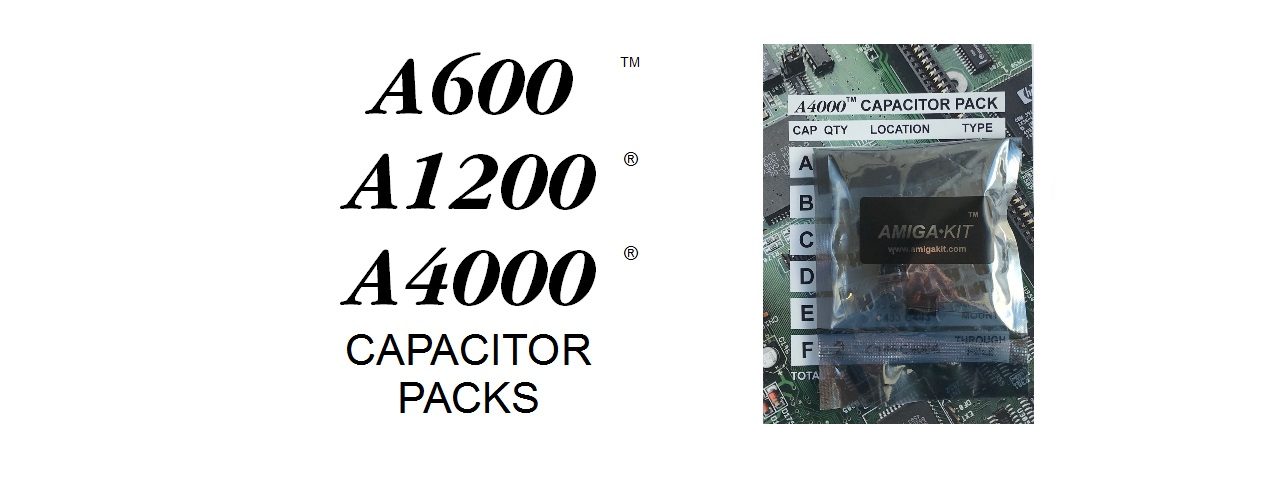 Capacitor Packs A1200 A4000 A600