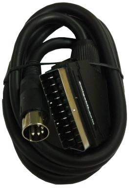 Commodore C64 to Scart TV Cable
