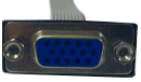 15-pin VGA connector