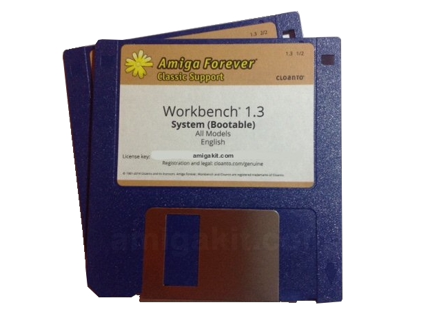Workbench 1.3 Floppy 2x Disk Set