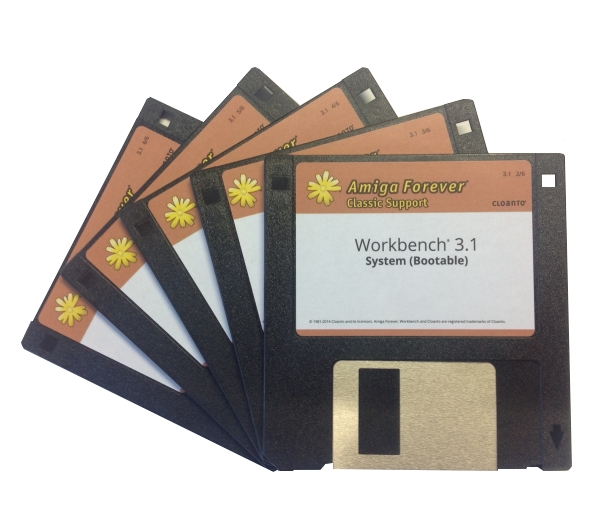 Workbench 3.1 Floppy Disk Set